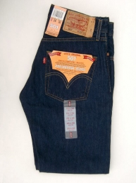 Levis 501 Dark Denim