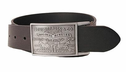 25388975f9357e Levis Large Buckle leather belt - Black | Jeans America